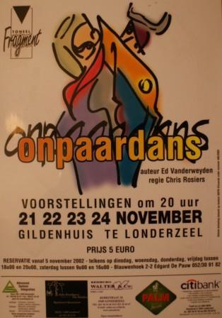 November 2002 - Onpaardans