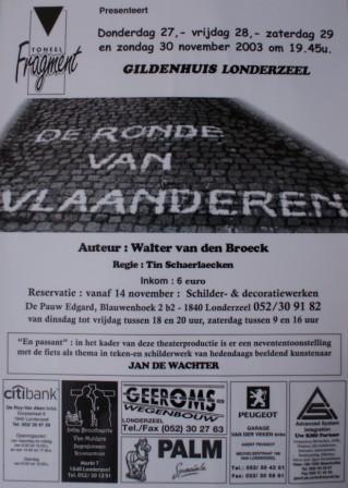 November 2003 - De ronde van Vlaanderen