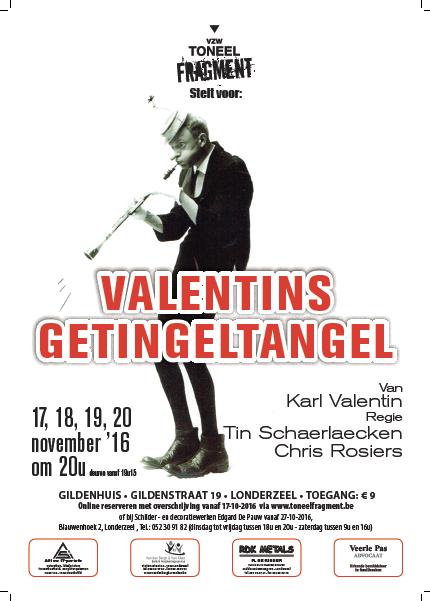 November 2016 - Valentins Getingeltangel
